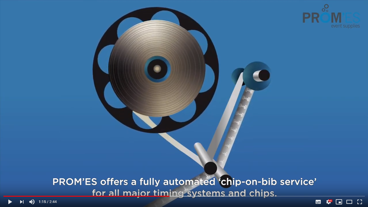 Video: Fully automated chip on bib service