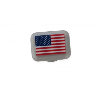 BibBits: Aufdruck 'Flag USA'