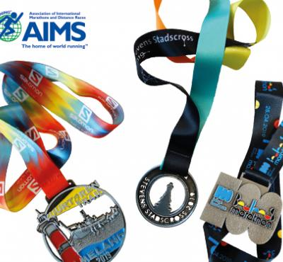 Custom made medals and ribbons