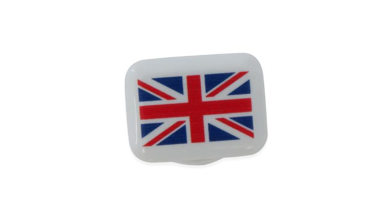 BibBits: Aufdruck 'Flag UK'