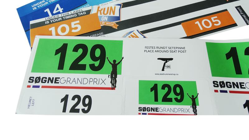 Stickers de triathlon